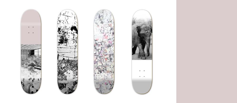 Nieuwe pop skateboards